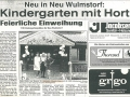 Elbe Wochenblatt 04.08.93, Feierliche Einweihung | KLICK = Foto vergrößern