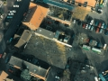Luftbild Baufeld mit Pfählen | KLICK = Foto vergrößern