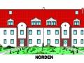 Ansicht Norden für Verkaufsunterlagen | KLICK = Foto vergrößern
