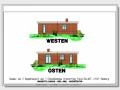 Ansichten Westen und Osten | KLICK = Foto vergrößern