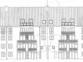 Rückansicht mit  neuen Balkonen im Dachgeschoss  | KLICK = Foto vergrößern