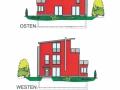 Ansichten Ost und West | KLICK = Foto vergrößern