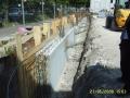 Fundament zu Straße | KLICK = Foto vergrößern