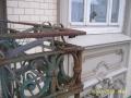 Fassade Geländer vor Sanierung | KLICK = Foto vergrößern