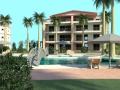 Animation Ansicht Haus v. Pool | KLICK = Foto vergrößern
