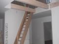 Wohnbereich mit Treppe zu SPB | KLICK = Foto vergrößern