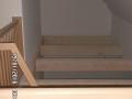 Luftraum zu Dachgeschoss | KLICK = Foto vergrößern