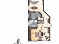 Wohnung 1 Erdgeschoss links | KLICK = Foto vergrößern