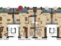 Mehrfamilienhaus vorne EG, 1.OG + 2.OG gesamt| KLICK = Foto vergrößern