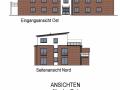 Hinteres Haus VK Ansichten Nord und Ost| KLICK = Foto vergrößern