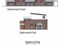 Hinteres Haus VK Ansichten Süd und West| KLICK = Foto vergrößern