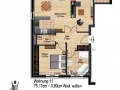 Whg 11 STG Haus B | KLICK = Foto vergrößern