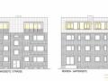 Ansichten aus Bauantrag | KLICK = Foto vergrößern