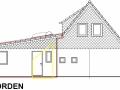 Ansicht N aus Bauantrag| KLICK = Foto vergrößern