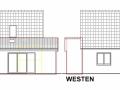 Ansicht O+W aus Bauantrag| KLICK = Foto vergrößern