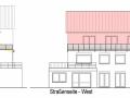 Ansichten N+W aus Bauantrag| KLICK = Foto vergrößern
