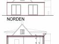 Ansicht Nord und Schnitt aus Bauantrag| KLICK = Foto vergrößern