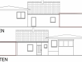 Ansichten aus Bauantrag| KLICK = Foto vergrößern