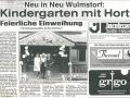 157 Elbe Wochenblatt 04.08.93, Feierliche Einweihung | KLICK = Foto vergrößern
